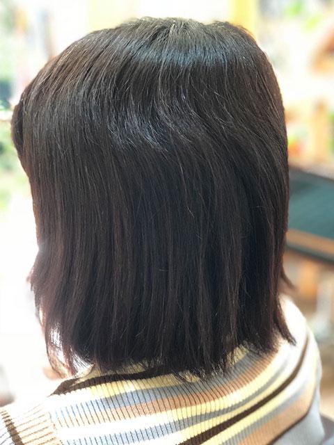 浜松市の美容室evergreenのストレートエステ